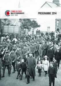20509 Wales Remembers Delivery Plan_Front cover_English