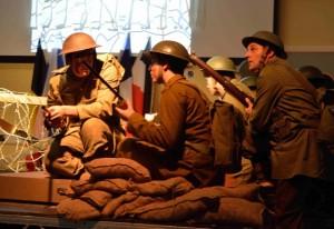 Llangwm opera - soldiers