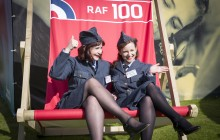 RAF100 Aircraft Tour kicks off in Cardiff