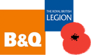 RBL and B&Q logo