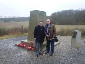 Mametz 6 Feb 2014 with the Mayor
