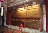 Rhestr y Gwroniaid Rhyfel Byd Cyntaf yn Eglwys Awstin Sant, Penarth © HLF