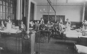Classroom in use as ward copy (2)