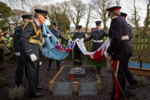 Air Chief Marshall Sir Stephen Hillier and Mr Edmund Seymour Bailey, Lord-Lieutenant for Gwynedd open the RAF Centenary Memorial Garden at the Lloyd George Museum  © MOD Crown Copyright 2017